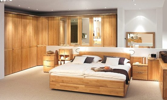Impressive Wooden Headboard Design Ideas