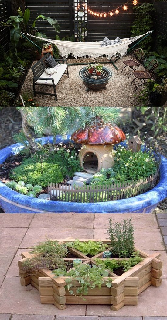 Inspiring Small Indoor and Outdoor Garden DIY Projects