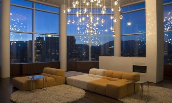 Interactive Home Lighting Options to Change the Room's Mood