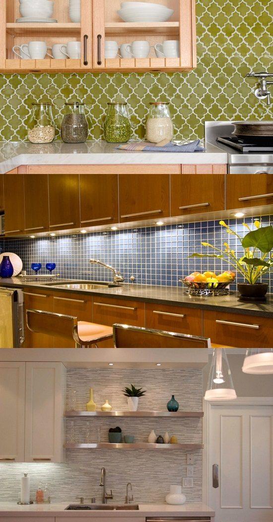 Decorative Tiles For Bathroom Backsplash : Interesting functional and decorative kitchen backsplash
