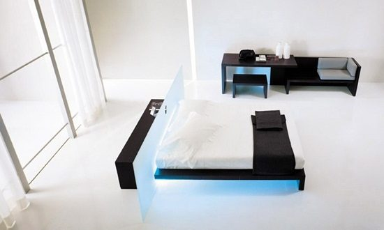 Interesting HighTech Touches To Your Modern Bedroom Interior Design - High tech bedroom design