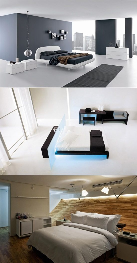 Interesting High Tech Touches To Your Modern Bedroom Interior Design