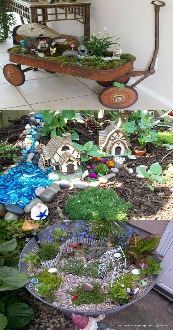 Magical fairy garden ideas to amuse your kids interior design - Garden ideas kids ...