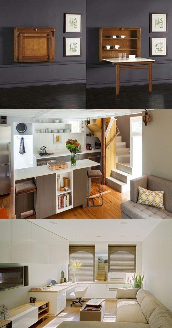 space-saving micro house design ideas - interior design