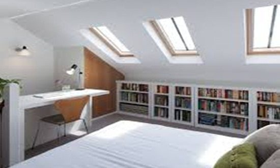 Take advantage of your Attic cleverly and with creativity
