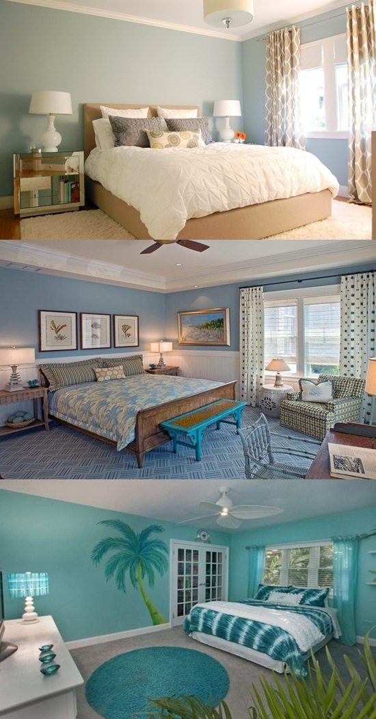 Tropical Theme Bedroom Decorating Ideas - Interior design