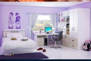 Ultra modern and cool kids' bedroom design