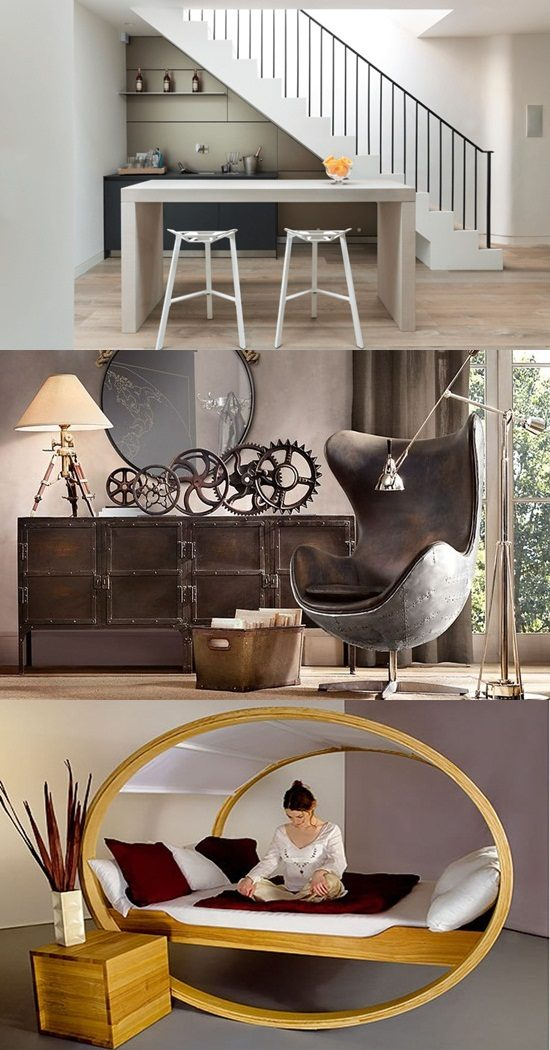 Punch Interior Design Furniture Options ~ Unconventional furniture options for your unique home