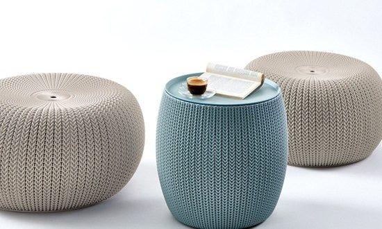 Unique Decorative and Functional Pouf Design Ideas