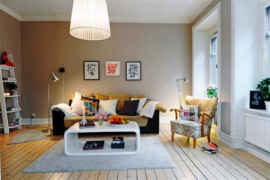 decorate your home with cozy minimalist furniture