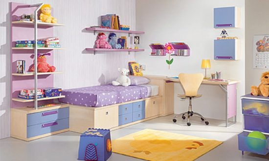 decorating your child bright comfortable bedroom