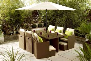 Comfortable and stylish garden furniture