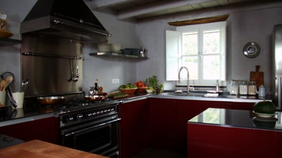 kitchen with Italian feel