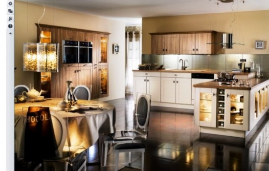 kitchen with a new stylish look
