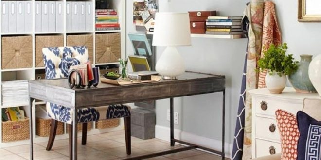Get a practical and elegant home office desk for your living room