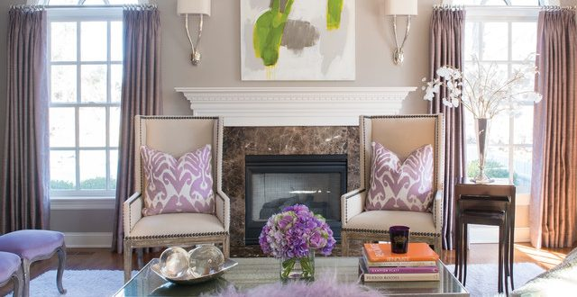 warm and inviting traditional living room