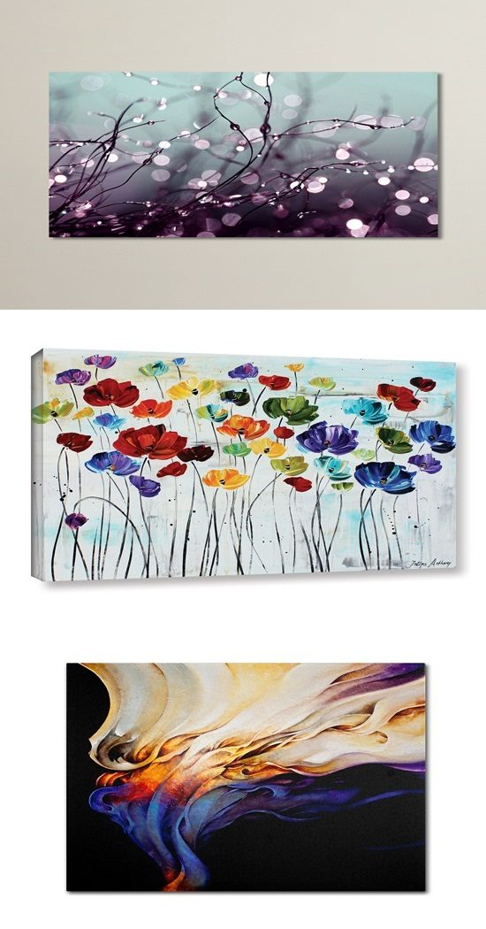 Add a value to your home by purchasing the right Canvas wall art
