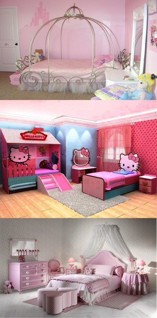 Beautiful bedroom design for your little girl interior design - Beautiful rooms for little girls ...