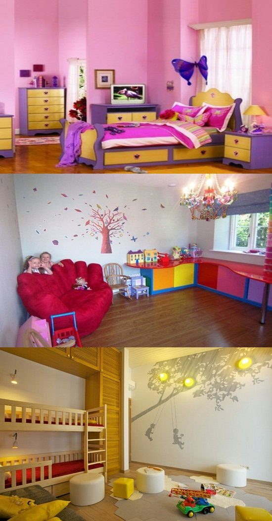 Beautify your kid's room with some simple design ideas