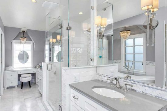 Bright and fun kitchen and bathroom decor ideas with for Kitchen colors with white cabinets with brushed nickel wall art