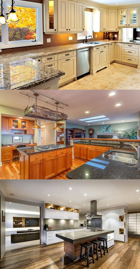 Colorful and welcoming kitchen design for bright homes
