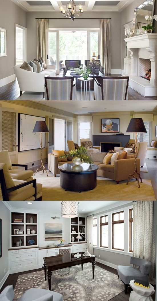 Creative transitional home interior design ideas inspired from allard and roberts designs - Creative home interior design ideas ...
