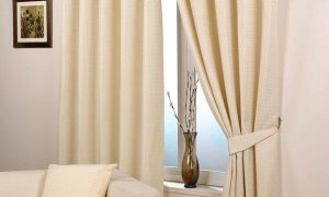 Curtain tiebacks are a good way to add value to your curtain style
