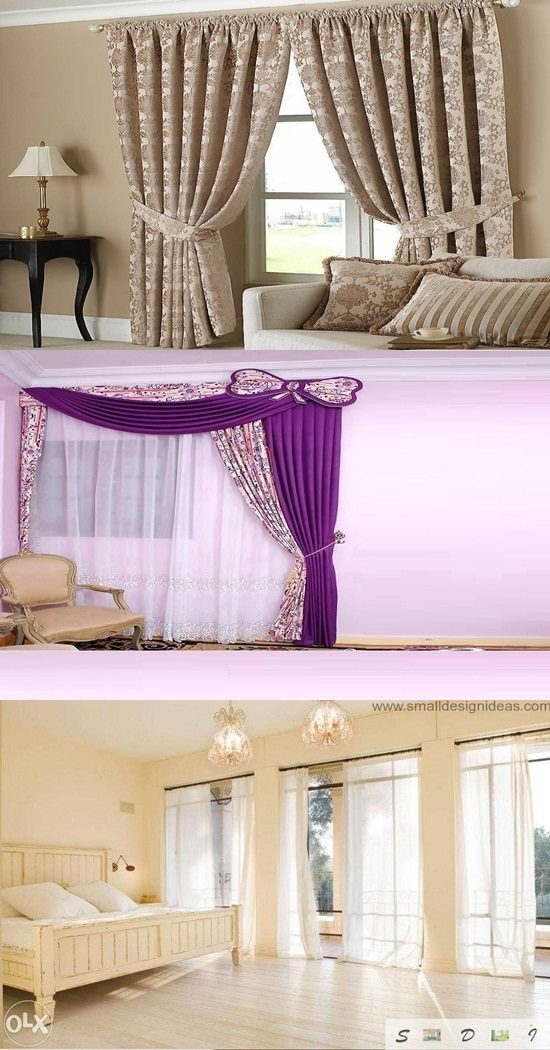 Curtains with technology add warm and beautiful atmosphere as desired