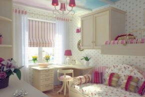 Design your kid elegant colorful room with passion
