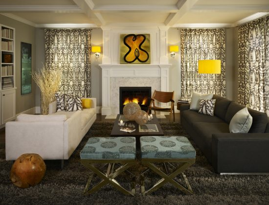 Dramatic Modern Touches You Can Steal from the Designs of Andrea Schumacher Interiors