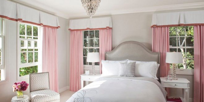 Elegant modern bedroom decor with a feminine touch