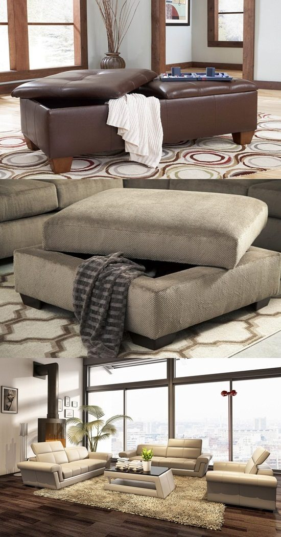 """Enhance the overall look of your home with a smart furniture piece """"Ottoman"""""""