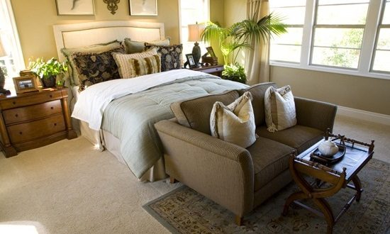 Enhance your Master bedroom with a comfortable relaxing seating