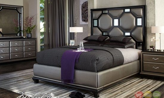 Enhance your bedroom with awesome black furniture