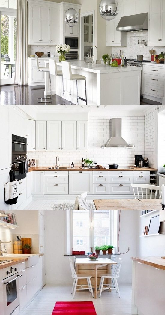 Enhance your kitchen look with adding the perfect light fixtures