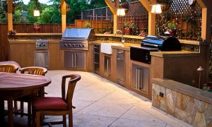 modern outdoor kitchen – Enjoy the time with your friends by creating a modern outdoor kitchen