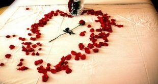 Enjoy the valentine with new passionate bedroom decorations