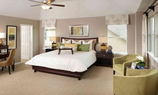 Feel comfortable with your beautiful master bedroom design