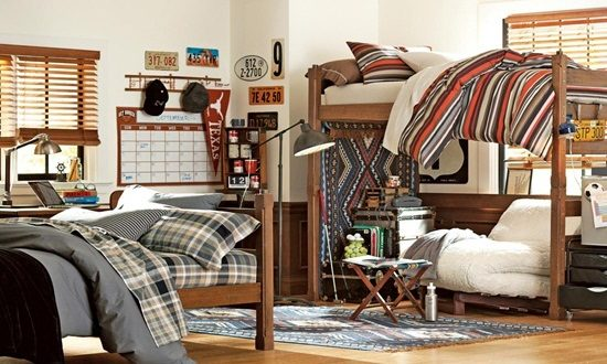 few tips to pick perfect furniture for a dorm room interior design