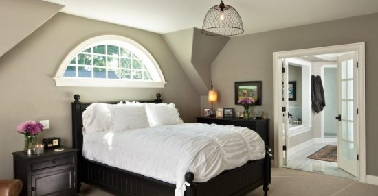 How to transform your attic into a nice master bedroom?