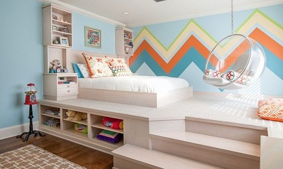 Make your dream kids room with innovative beds for small space