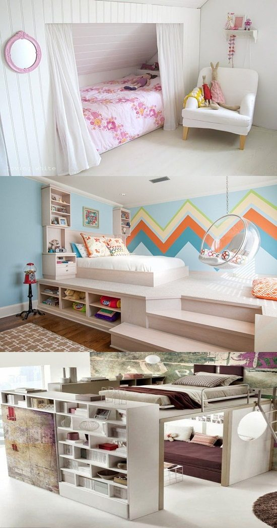 Make your dream kids room with innovative beds for small for Make your dream bedroom