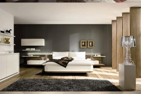 Modern and minimalist interior design decor for a gorgeous bedroom