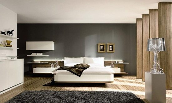 Modern and minimalist interior design decor for a gorgeous for Modern minimalist bedroom