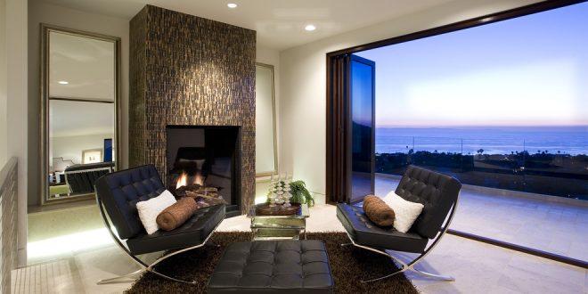 Peaceful modern beach house design tricks through the for Peaceful living room ideas