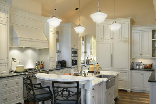 Sophisticated Traditional Home Décor Ideas Using Dark Floor by Tina Barclay