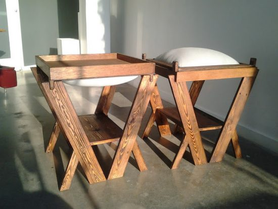 What is the urban furniture supposed to be and serve?