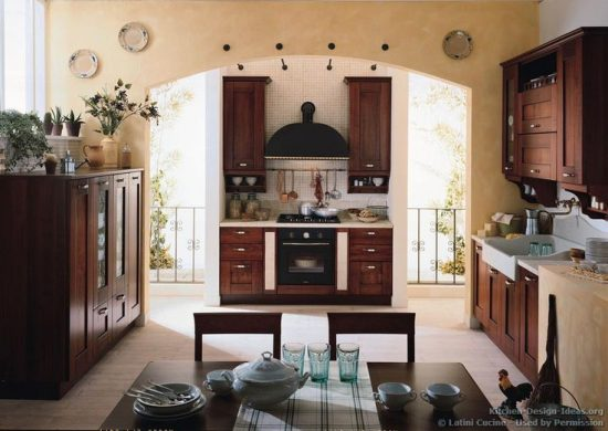 a warm and cozy atmosphere by creating a country kitchen design