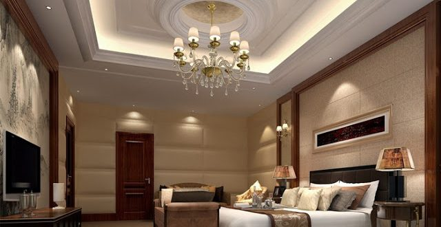 desirable bedroom look with a proper light collection