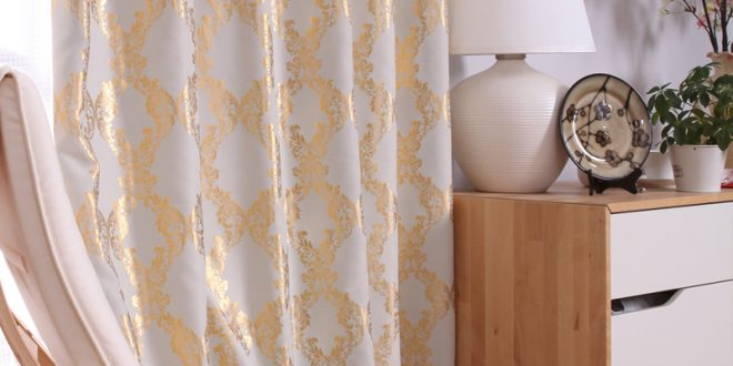 luxurious feel by installing Bamboo beaded door curtain